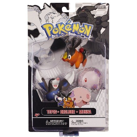 figuras-de-accion-de-los-pokemon-tepig-munna-y-drilbur